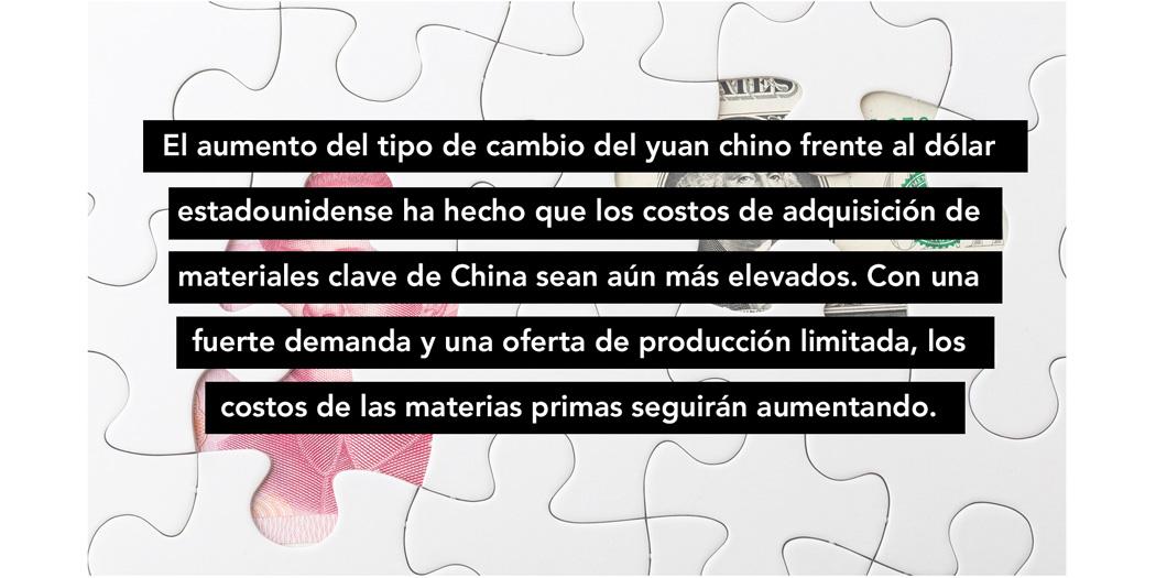 China USA materials